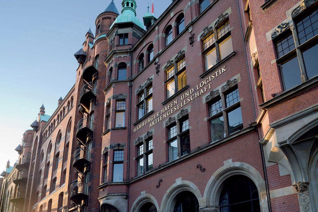 """HHLA Konzernzentrale – sog. """"Rathaus der Speicherstadt"""""""
