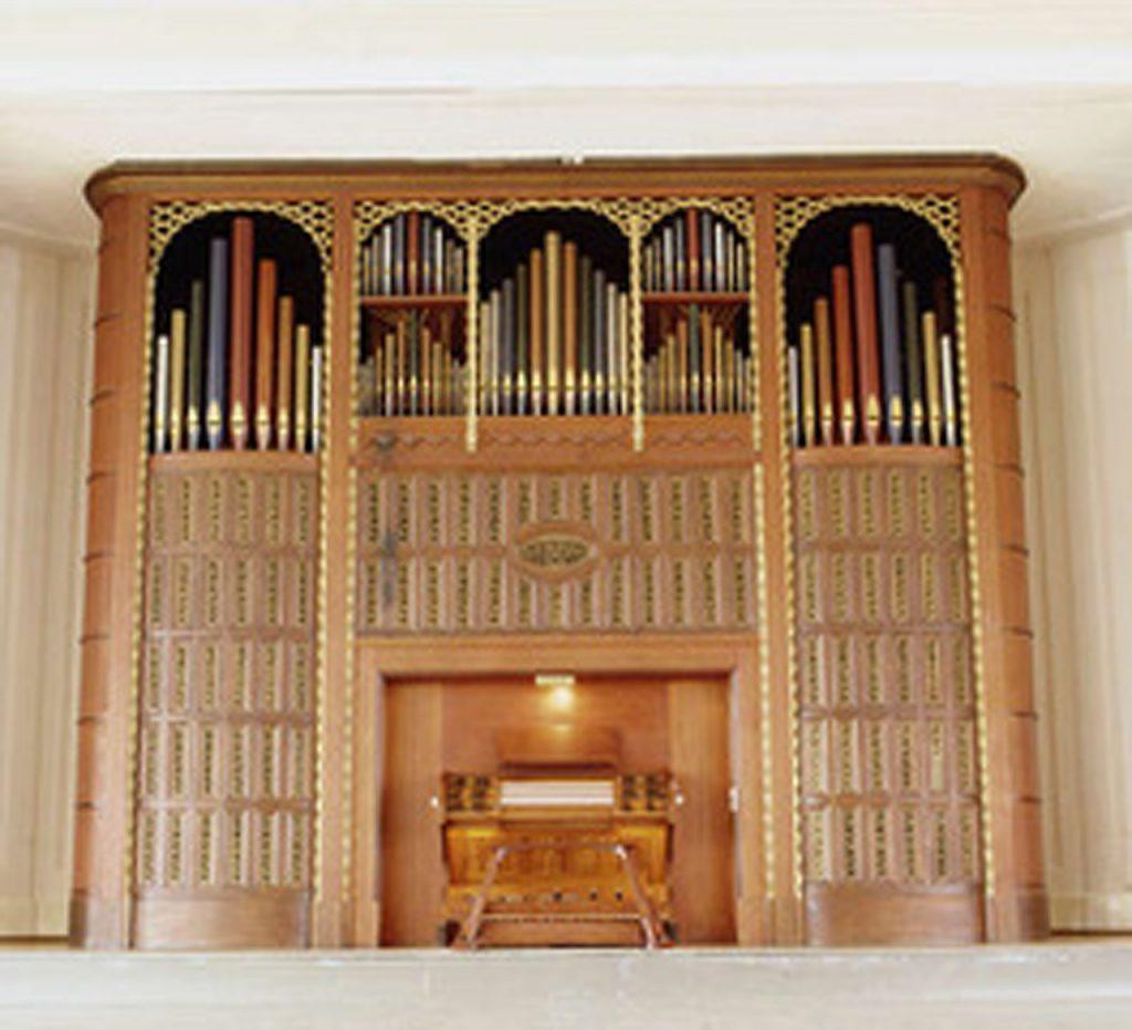 Hans-Henny-Jahnn-Orgel in der Heinrich-Hertz-Schule