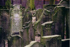 Jüdischer Friedhof Altona, aschkenasische Grabsteine
