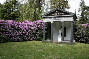 Friedhof Ohlsdorf, Grabstätte Familie Nugent