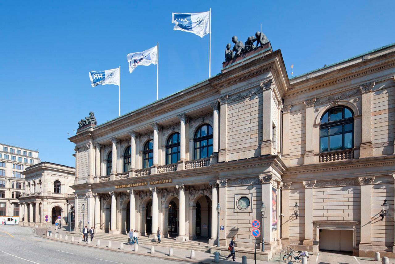 Neue Börse – Handelskammer und Commerzbibliothek