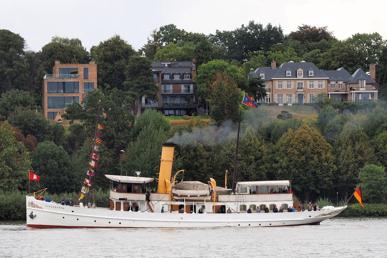 Dampfschiff SCHAARHÖRN